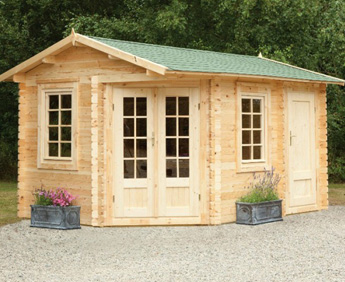 Cabins With Storage Sheds