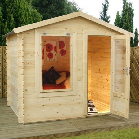 2.5m x 2m Studio Log Cabin