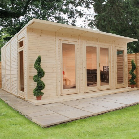 5m x 4m Insulated Cabin