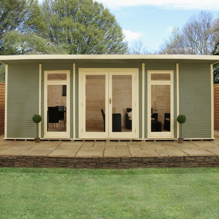 6m x 4m Insulated Cabin