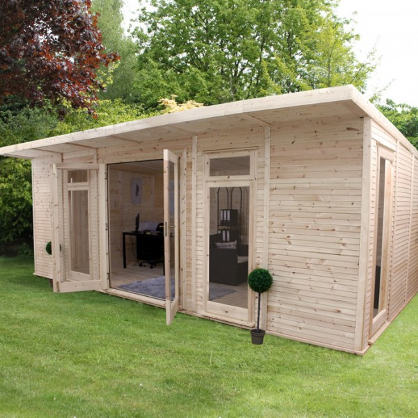 home office cabin. 6m X 3m Insulated Cabin Home Office F